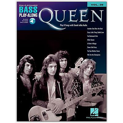 Hal Leonard Queen Bass Play-Along Volume 39 Book/Audio Online