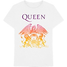 Queen Crest White T-Shirt X Large
