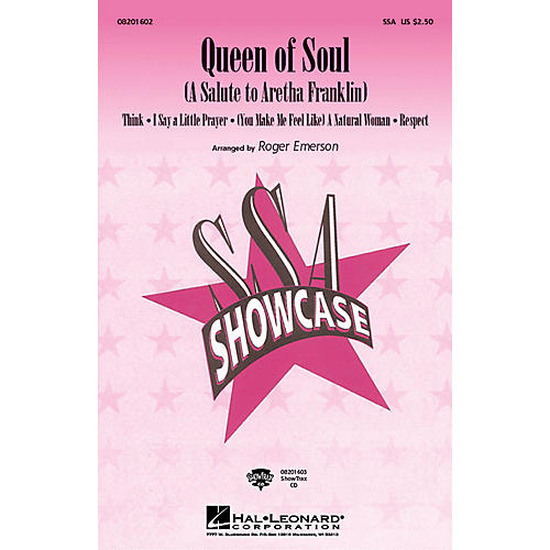 Hal Leonard Queen Of Soul (A Salute To Aretha Franklin) ShowTrax CD by Aretha Franklin arranged by Roger Emerson