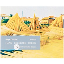 Queen Reeds for Bass Clarinet Strength 3 Box of 10