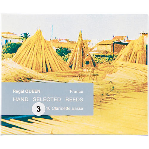 Rigotti Queen Reeds for Bass Clarinet Strength 5 Box of 10