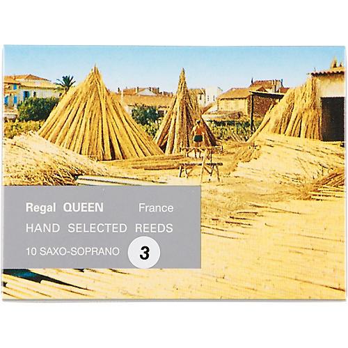 Rigotti Queen Reeds for Soprano Saxophone Strength 3.5 Box of 10