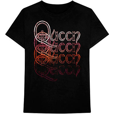 Bravado Queen Repeat Logo T-Shirt