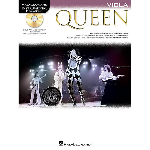 Hal Leonard Queen (Viola) Instrumental Play-Along Series Softcover with CD Performed by Queen