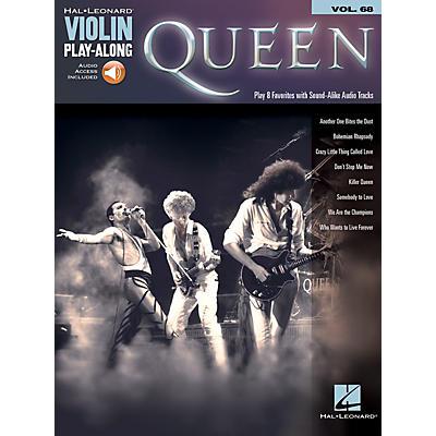 Hal Leonard Queen Violin Play-Along Volume 68 Book/Audio Online
