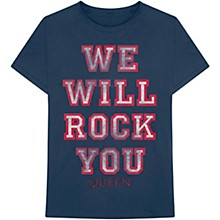Queen We Will Rock You T-Shirt Large
