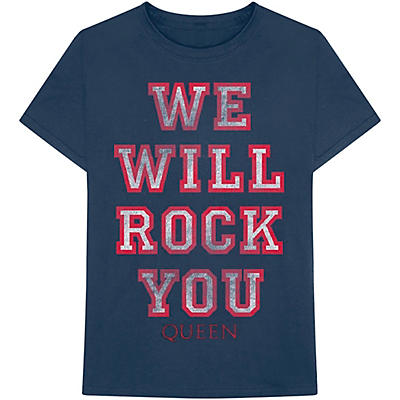 Bravado Queen We Will Rock You T-Shirt