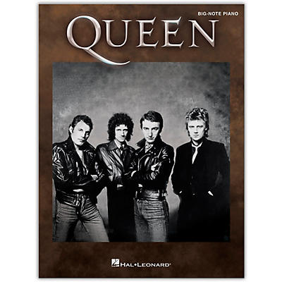Hal Leonard Queen for Big-Note Piano Big Note Personality Series Softcover Performed by Queen