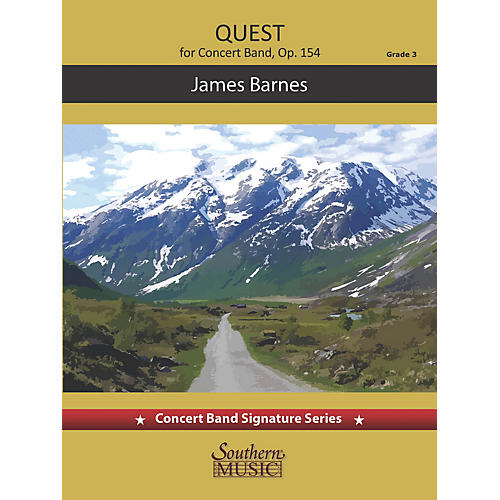 Southern Quest (Score and Parts) Concert Band Level 3 by James Barnes