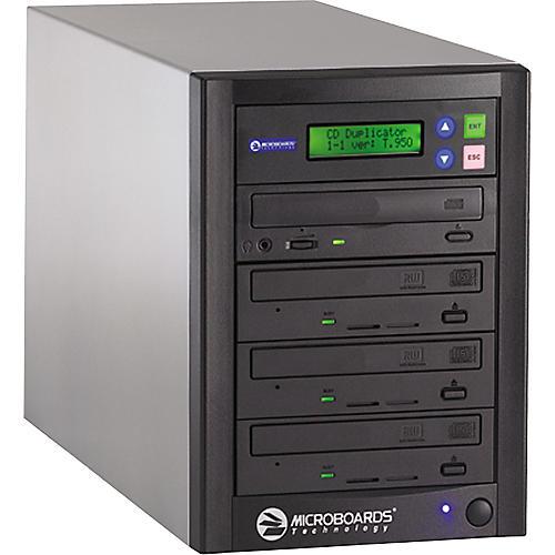 Microboards QuicDisc QD-123 One to Three 52X CD Duplicator