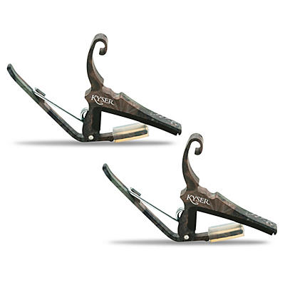 Kyser Quick-Change Capo 2-Pack for 6-String Acoustic Guitar
