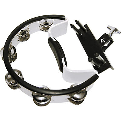 Pearl Quick-Draw Mounted Tambourine with Steel Jingles