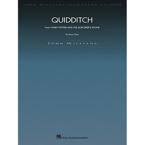 Hal Leonard Quidditch (from Harry Potter and the Sorceror's Stone) John Williams Signature Edition - Brass