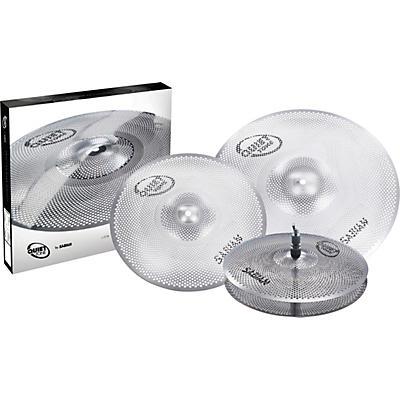 Sabian Quiet Tone Practice Cymbal Set, 13/14/18