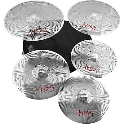 Kasza Cymbals Quiet on the Set Practice Cymbal Pack