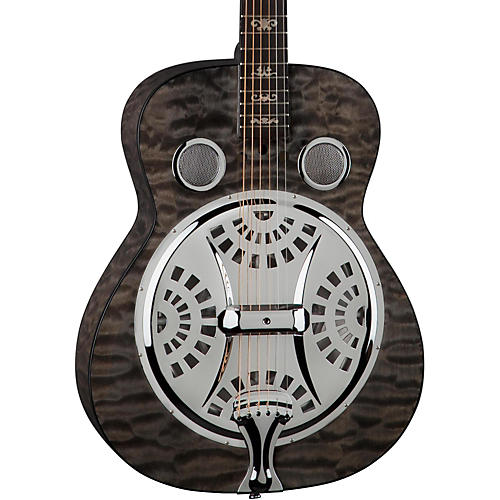 Dean Quilt Trans Black Spider Resonator