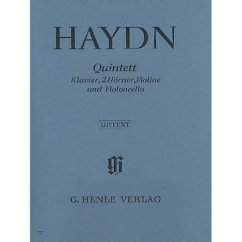 G. Henle Verlag Quintet E Flat Major Hob.XIV:1 Henle Music Folios Series Softcover by Joseph Haydn