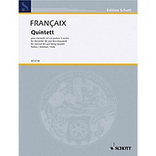 Schott Music Quintet (Set of Parts) Schott Series Composed by Jean Françaix
