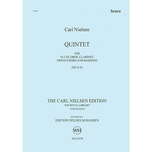 Wilhelm Hansen Quintet for Wind Op. 43 Music Sales America Series by Carl Nielsen