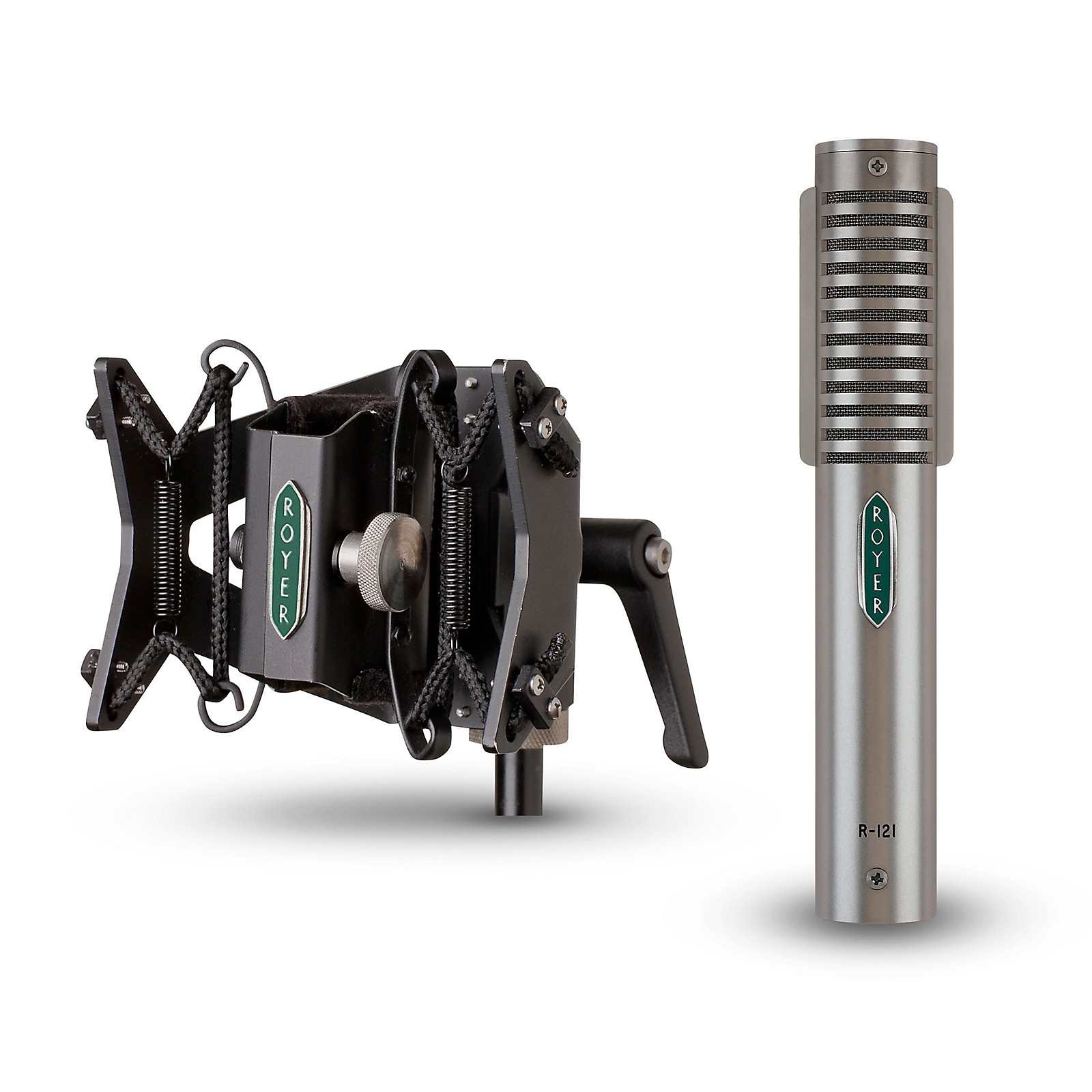 Royer R-121 Ribbon Microphone and RSM-SS1 Sling-Shock Shockmount