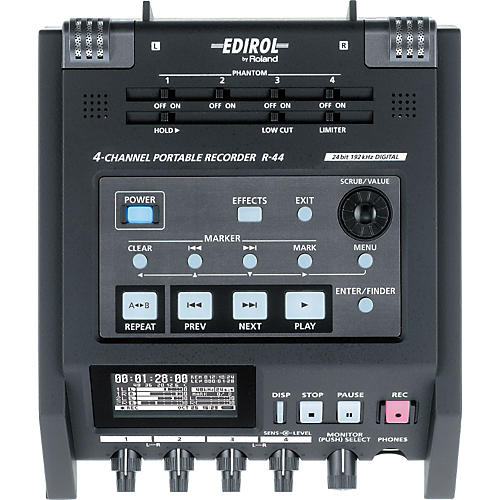 Edirol R-44 4-Channel Solid State Field Recorder