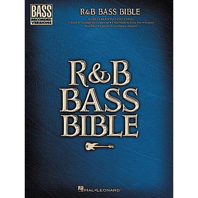 Hal Leonard R & B Bible Bass Guitar Tab Songbook