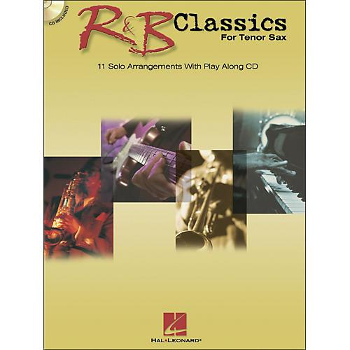 Hal Leonard R & B Classics for Tenor Sax Book/CD