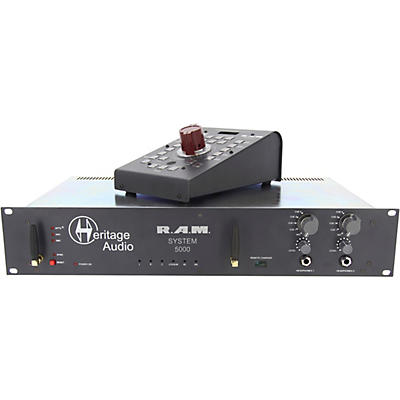 Heritage Audio R.A.M System 5000 5.1 Rackmount Monitoring System