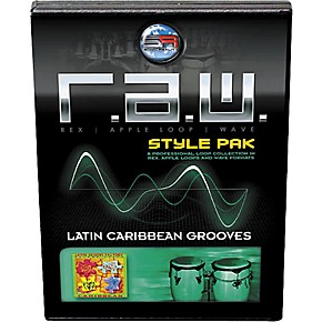 Sonic Reality R A W  Style Pack - Latin: Caribbean Grooves Loops Collection  Software