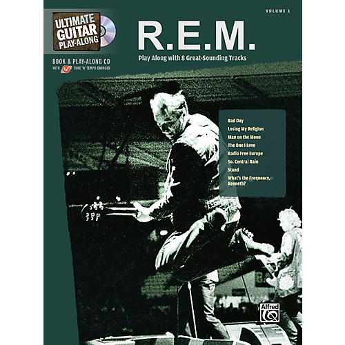 Alfred R.E.M. - Guitar Play Along Book with CD
