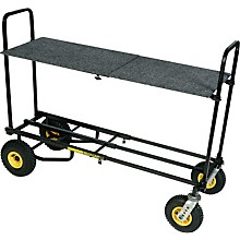 Rock N Roller R12 Multi-Cart 8-in-1 Equipment Transporter Cart with Shelf