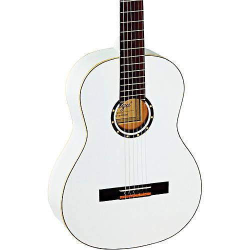 Ortega R121WH Full-Size Family Series Classical Guitar