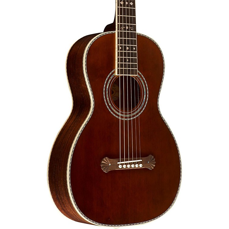Washburn R314KK Parlor Acoustic Guitar Vintage Natural ...