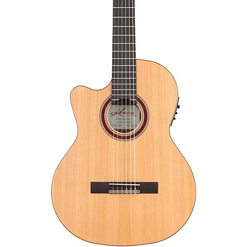 Kremona R65CWC Rondo Left-Handed Acoustic-Electric Classical Guitar Natural