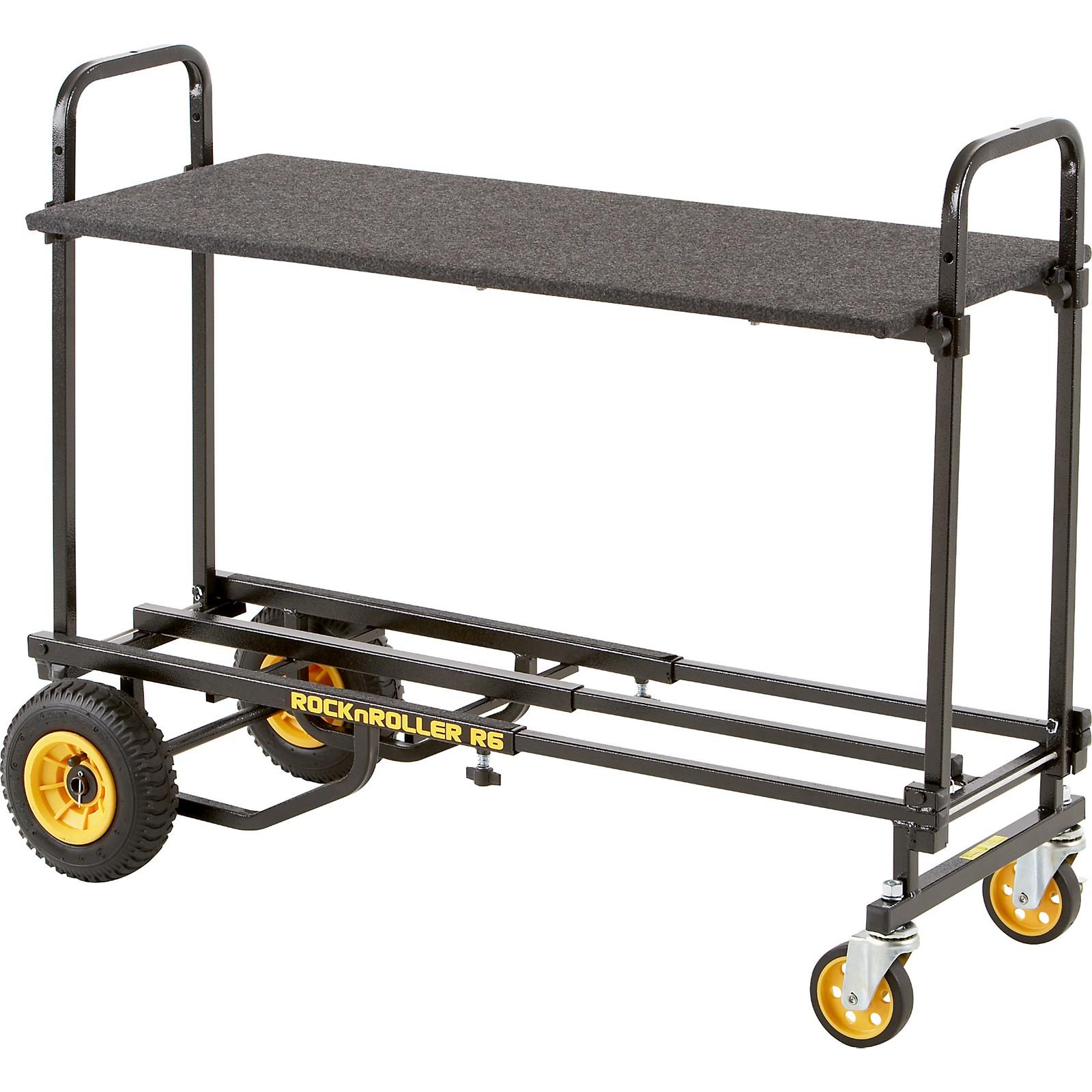 Rock N Roller R6RT 8-in-1 Mini Multi-Cart With Shelf