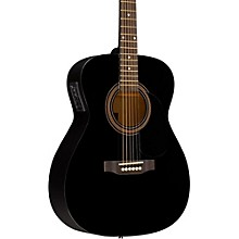 RA-090 Concert Acoustic-Electric Guitar Black