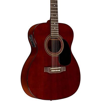 Rogue RA-090 Concert Acoustic-Electric Guitar, Mahogany