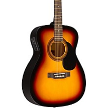 RA-090 Concert Acoustic-Electric Guitar Sunburst