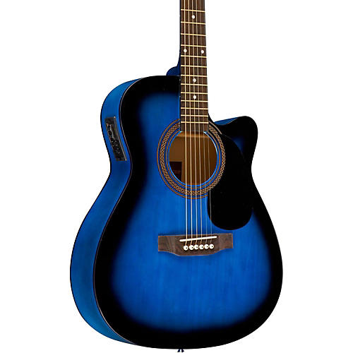 Rogue RA-090 Concert Cutaway Acoustic-Electric Guitar