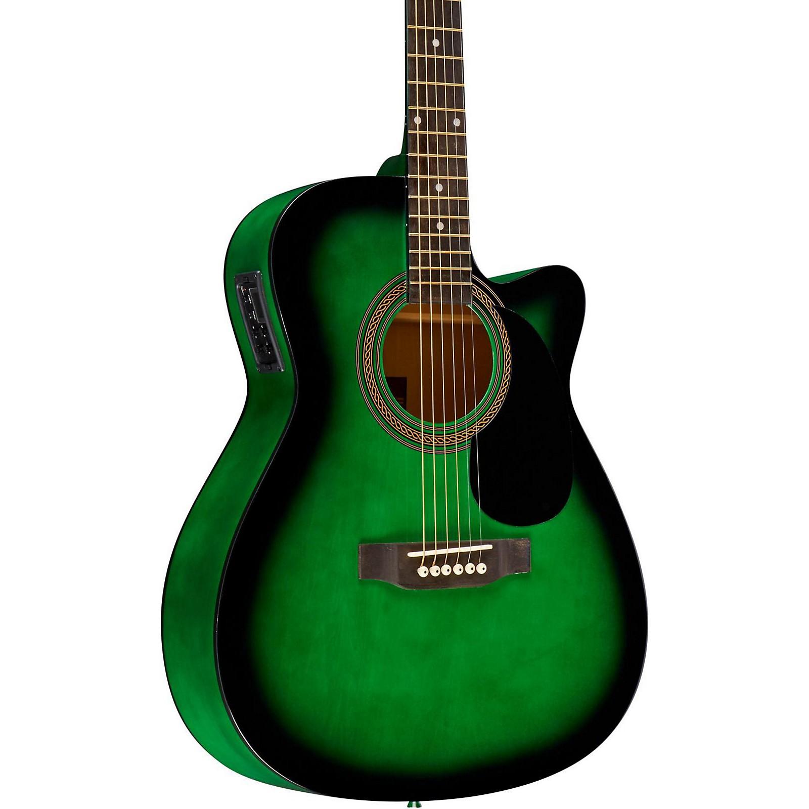Rogue RA-090 Concert Cutaway Acoustic-Electric Guitar