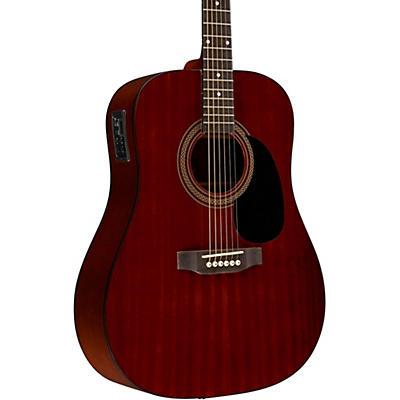 Rogue RA-090 Dreadnought Acoustic-Electric Guitar Mahogany