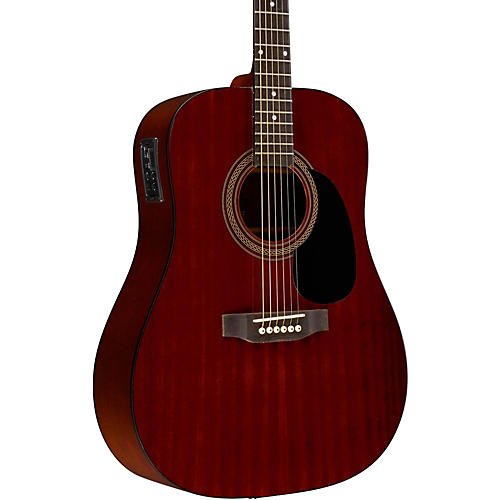Rogue RA-090 Dreadnought Acoustic-Electric Guitar Mahogany Natural