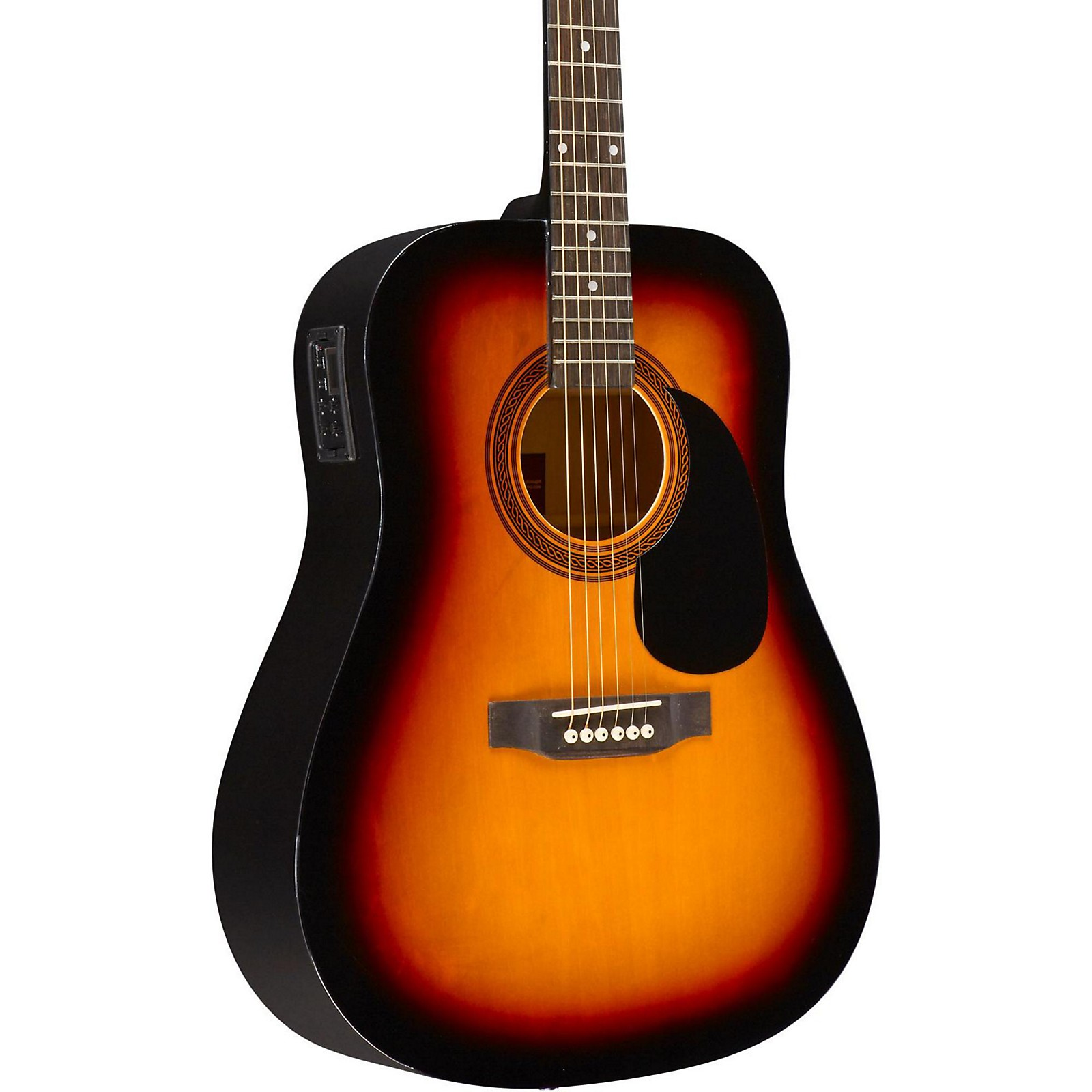 Rogue RA-090 Dreadnought Acoustic-Electric Guitar