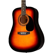 RA-090 Dreadnought Acoustic Guitar Sunburst