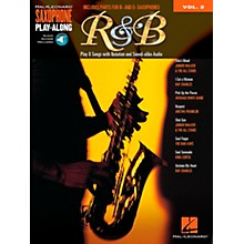 Hal Leonard R&B - Saxophone Play-Along Vol. 2 Book/Online Audio