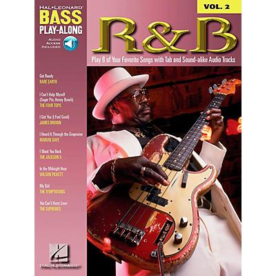 Hal Leonard R&B Bass Guitar Play-Along Series Book with CD
