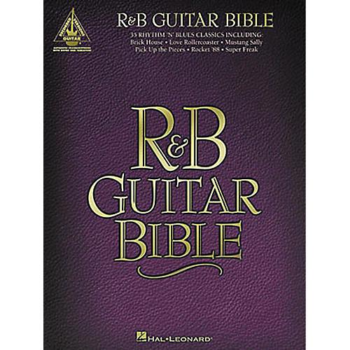 Hal Leonard R&B Bible Guitar Tab Songbook