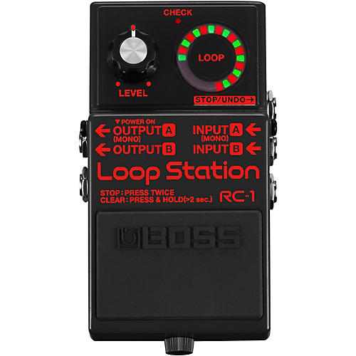 Boss RC-1-BK Loop Station