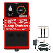 RC-1 Loop Station, PSA-120S2 AC Power Adapter and 3' Instrument Cable Bundle