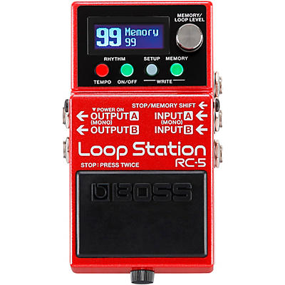 Boss RC-5 Loop Station Effects Pedal